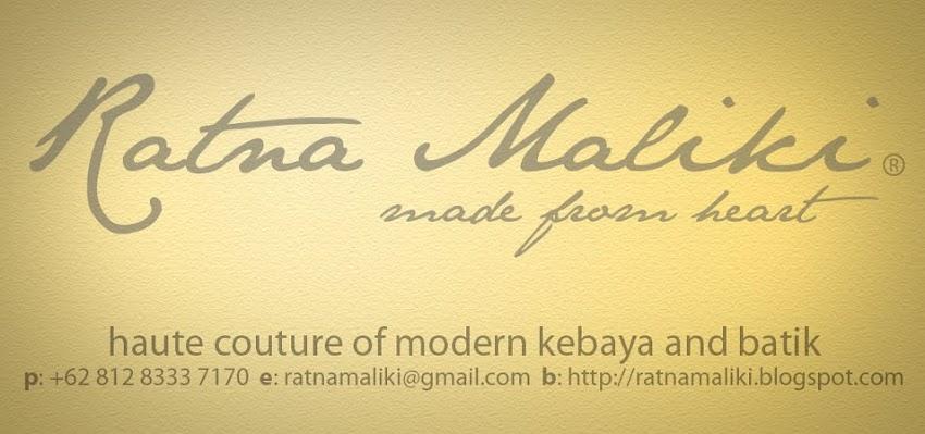 Ratna Maliki Kebaya
