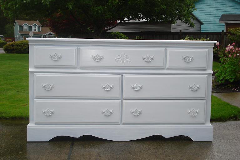 Shabby Chic White Dresser