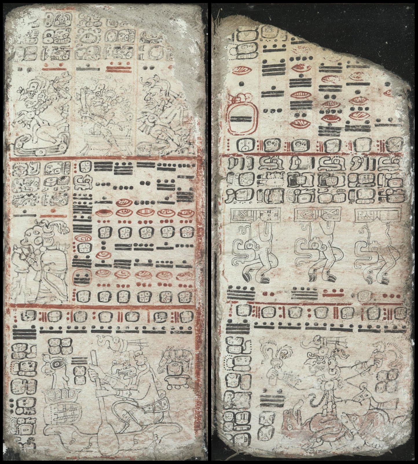 Mayan codex - Table for the Planet Mars