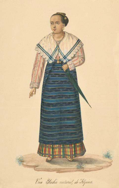 female attire from the Philippines