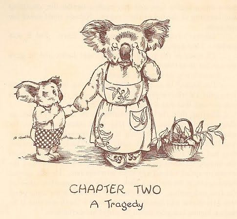 Blinky Bill - Chapter 2 vignette (1933 by Dorothy Wall
