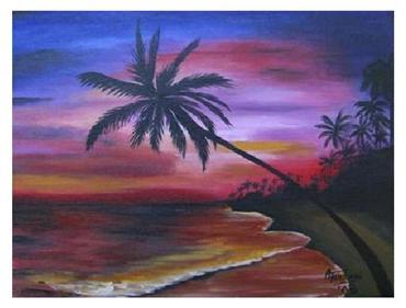 Ocaso tropical
