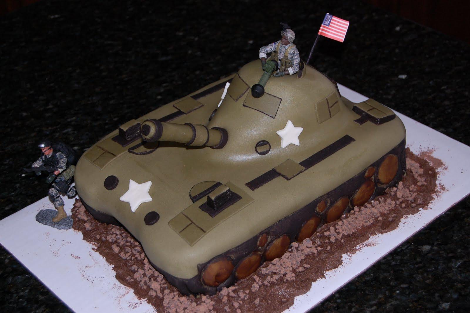 MKHKKH US Tank Cake