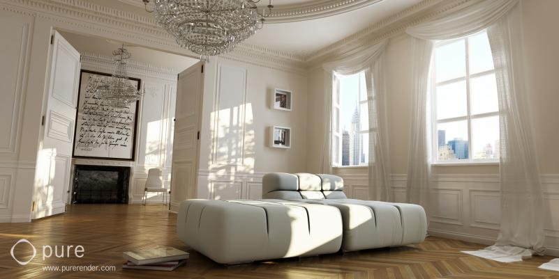 Как в 3d max сделать потолок