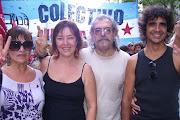 La Comisiòn de Medios de Carta Abierta en la Marcha de la Memoria