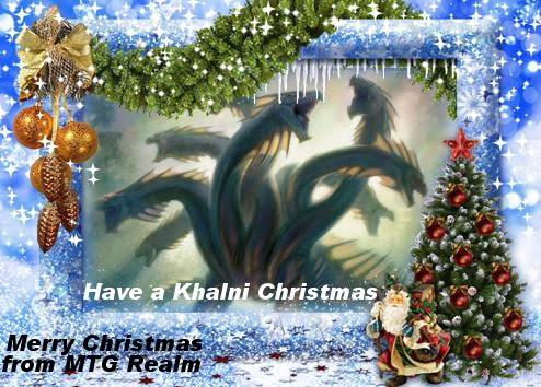 MTG Realm: MTG Christmas Cards