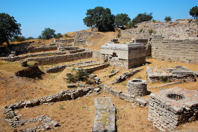 Archaeological Sites in Turkey Archaeological Site of Troy in