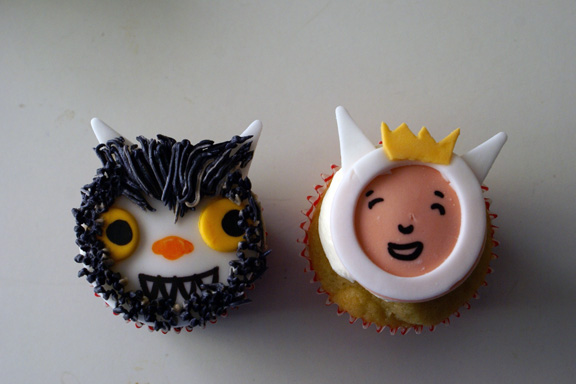 where the wild things are cake and cupcakes