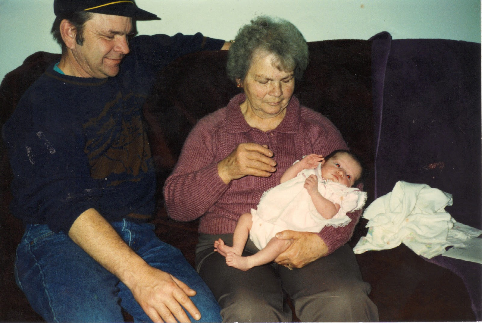 Grandma, Darren and Donna in