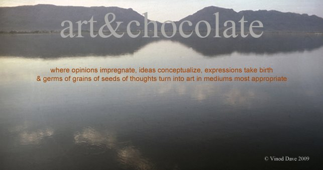 art and chocolate