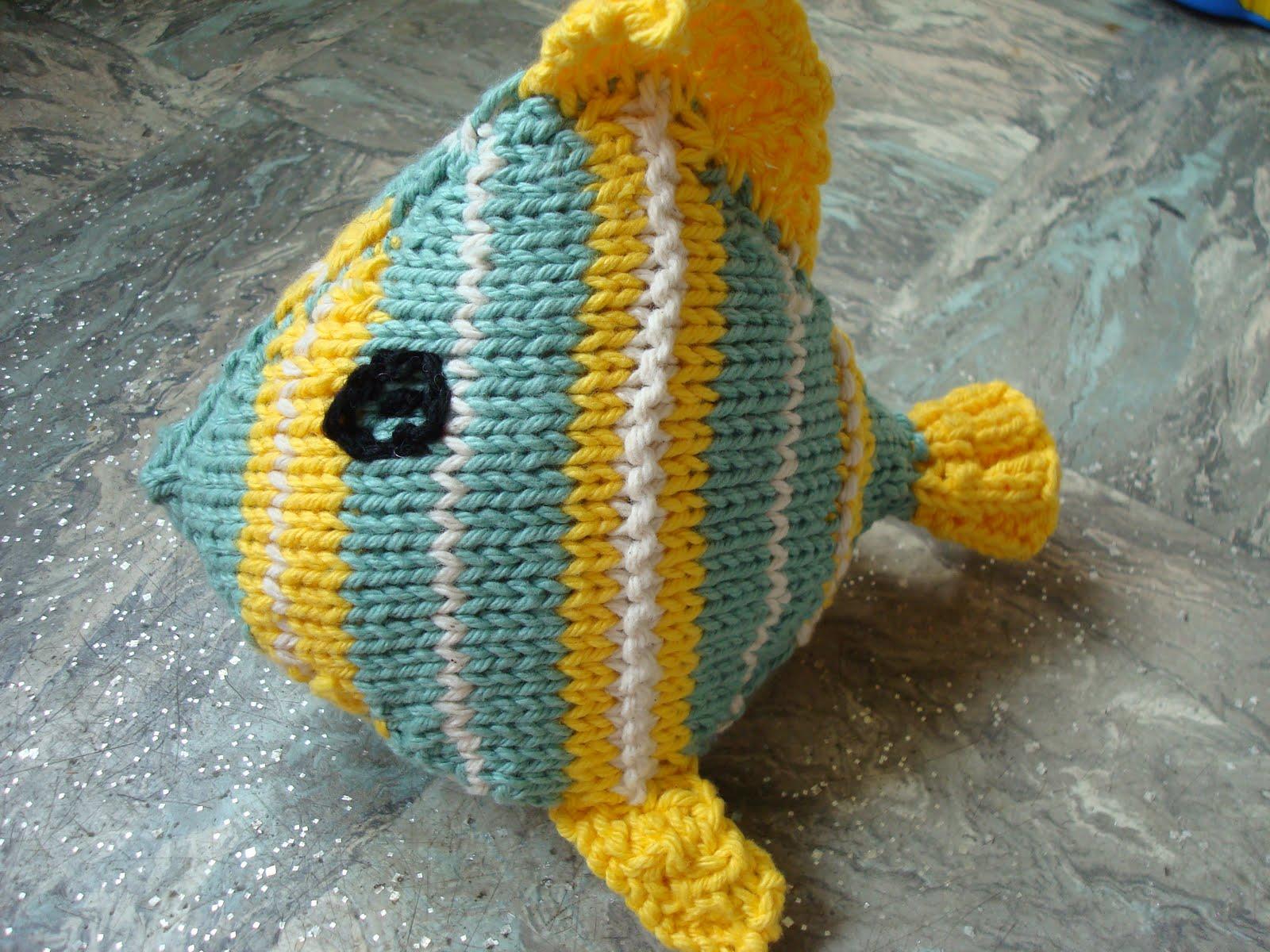 Knitted Amigurumi Sea Creatures : Spiritual knitter: Under the sea