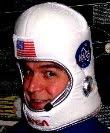 durante uno dei miei viaggi nello spazio...