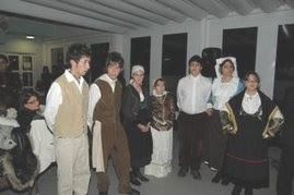 Traditional dresses and suits from Calabria