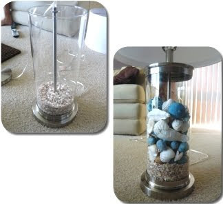 Fill Glass Lamp