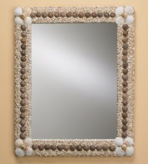 Craft Ideas Mirrors on There Is A Wide Selection Of Seashell Adorned Mirrors And Picture