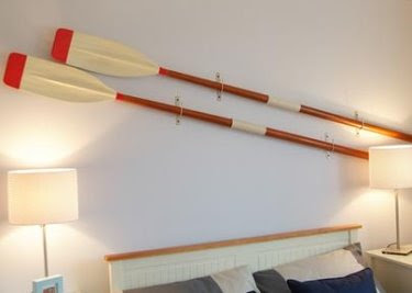 oars in bedroom