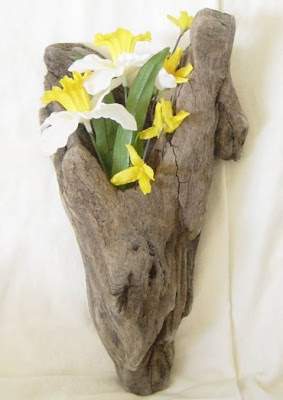 decorative driftwood piece