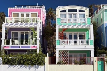 Colorful Homes California