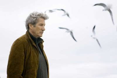 Richard Gere in Nights in Rodanthe on the beach