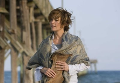 Diane Lane in Nights in Rodanthe on the beach