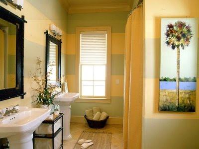 أنآقة ودفئ اللون الأصفر لان yellow-bathroom.jpg