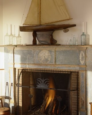 Sea Theme Fireplace
