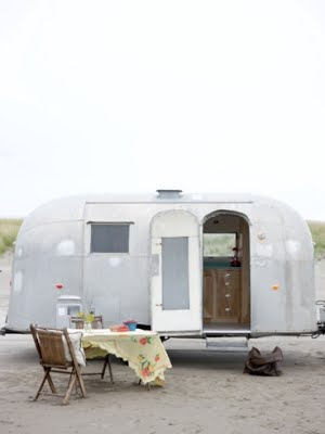 Airstream trailer Holiday