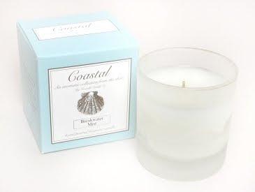 white sea candle