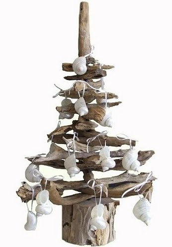 Karen Miller driftwood Christmas tree