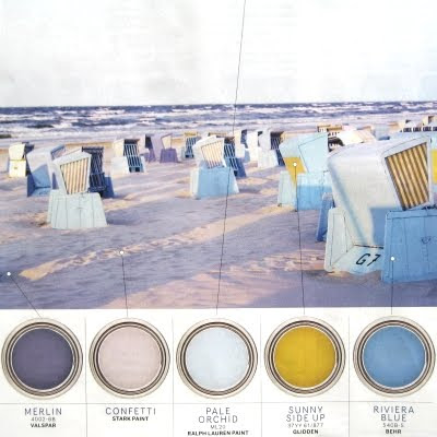 color inspiration from beach chairs