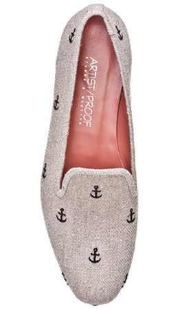 shoes with anchor design