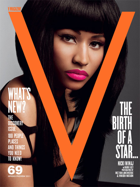 Nicki Minaj V Cover. Cover V Magazine Nicki Minaj