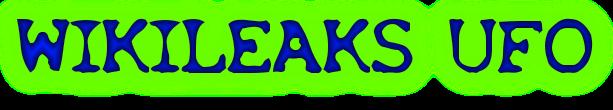 Wikileaks UFO