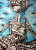 serie Virgen de Pescadores