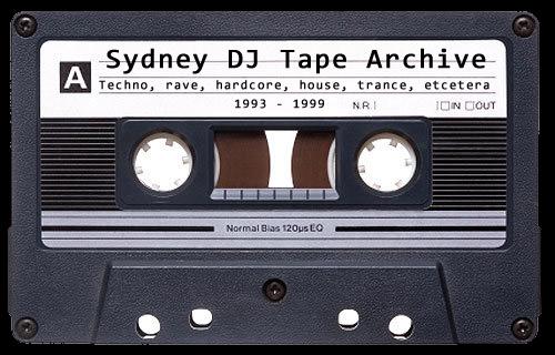 Sydney DJ Tape Archive