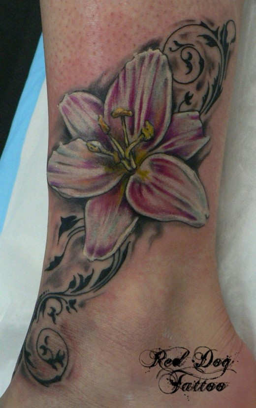 Different Types Of Ankle Tattoo Designs For Girls