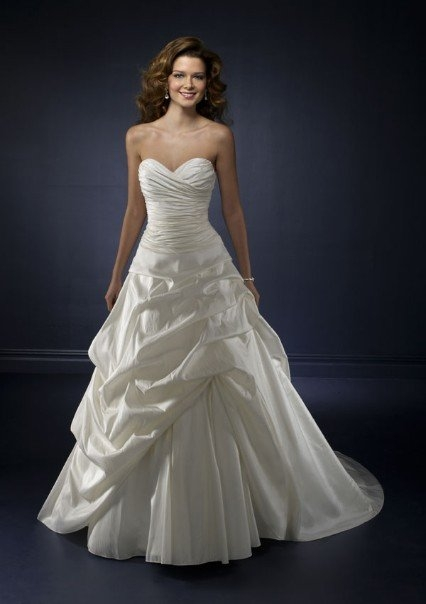 The Bridal House: Wedding Gowns 101: A-Line vs. Empire