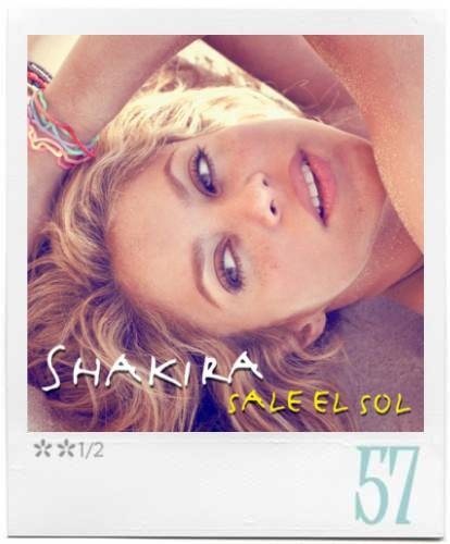 shakira sale el sol artwork. Sale El Sol, Shakira