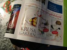 Våra korgar med i Krusagårdens annons i Lantliv