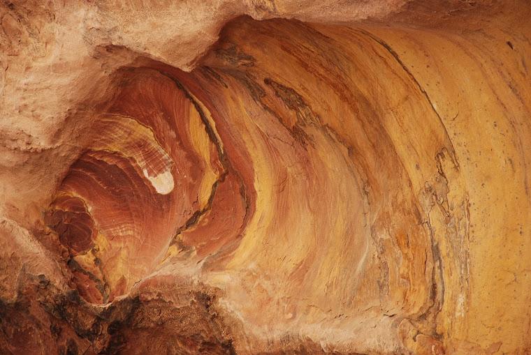 Rocas en Petra.