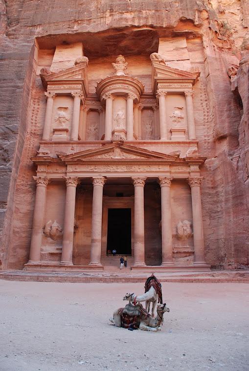 Khazneh o el Tesoro -Petra-