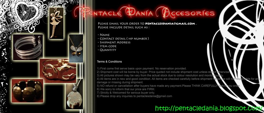 <b>Pentacle Dania Accessories</b>