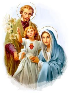 Gesù, Giuseppe e Maria