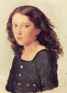 Felix Mendelssohn Bartholdy im Alter von 12 Jahren, Ölskizze von Carl Joseph Begas (1821)