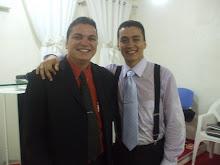 Cantor Maycon Garcia e o Pastor Emerson Garcia