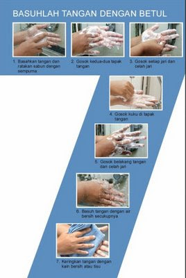 7 Steps to Washing Your Hands