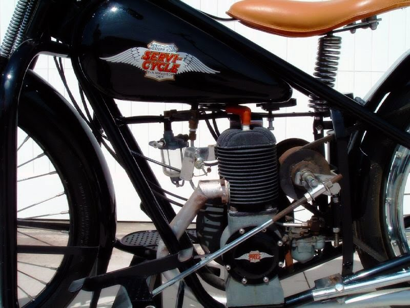 1947 simplex motorcycle manufactured in san francisco