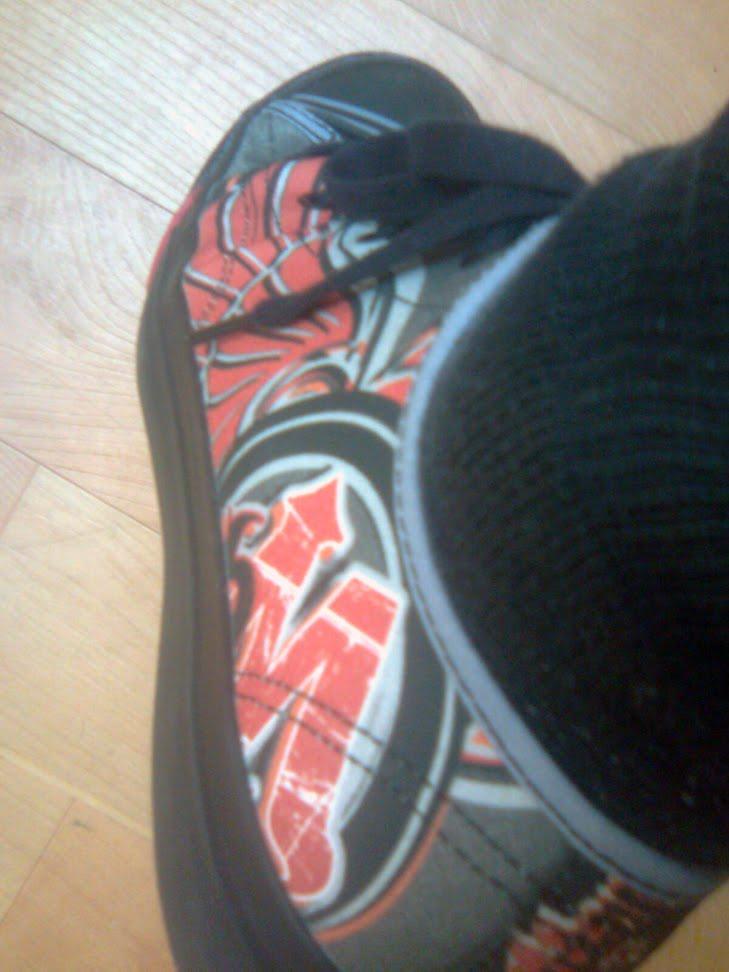 bikerMetric sneakers | left