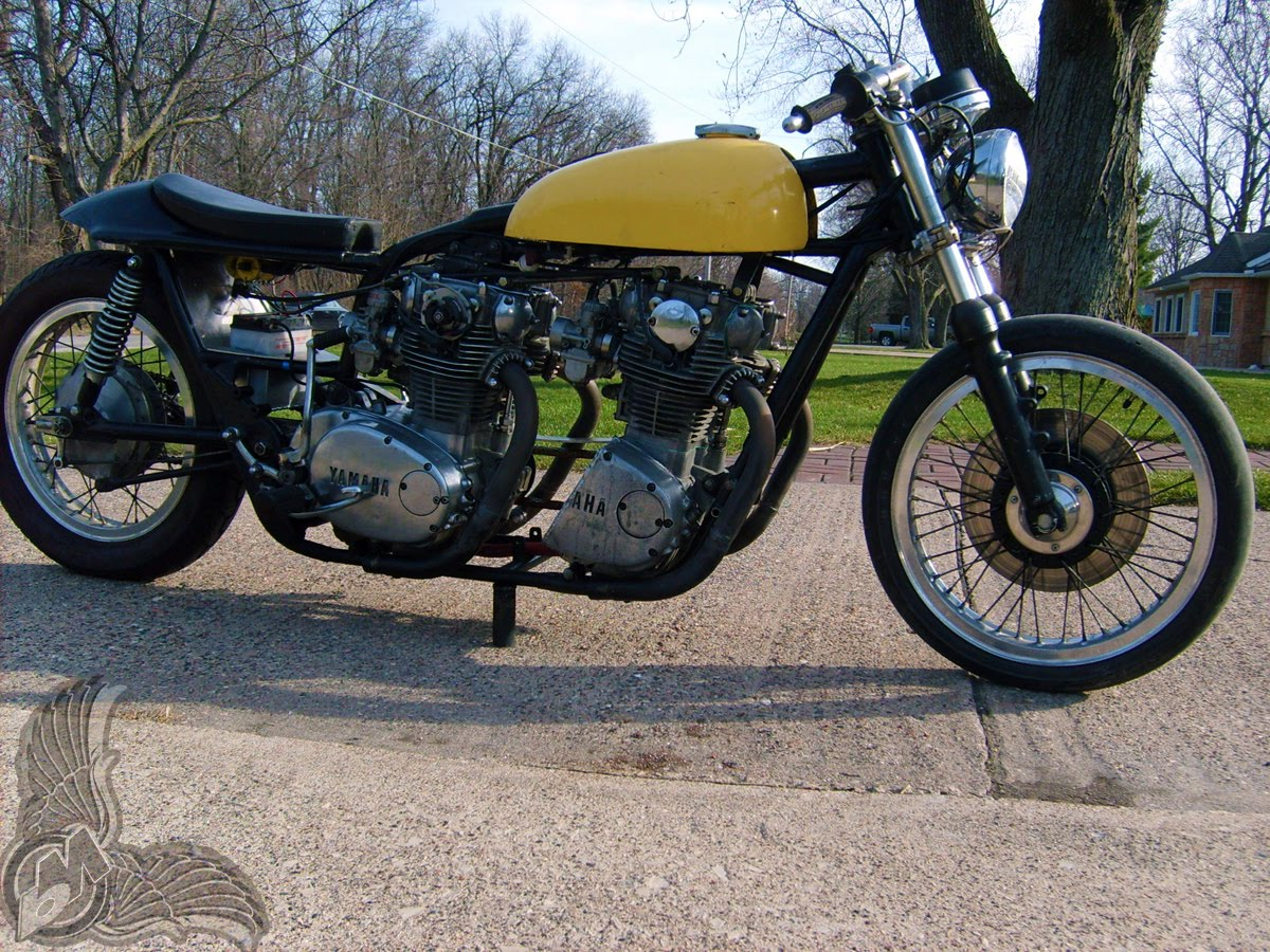 xs650 double motor monster - right