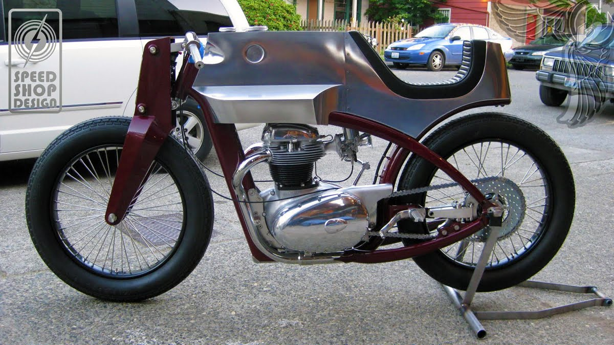 1965 bsa a65 left - beezerker | speed shop design